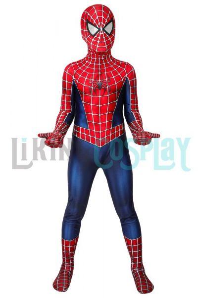Spider-Man 2 Costume Cosplay Jumpsuit Peter Parker 3D Printed