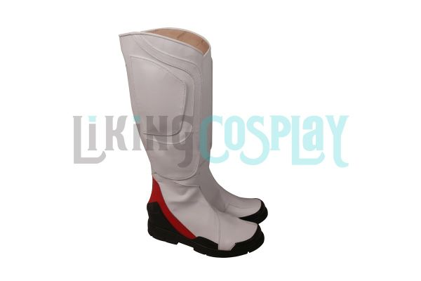 Details about  /Avengers Endgame Quantum Realm Cosplay Shoes Boots White Version
