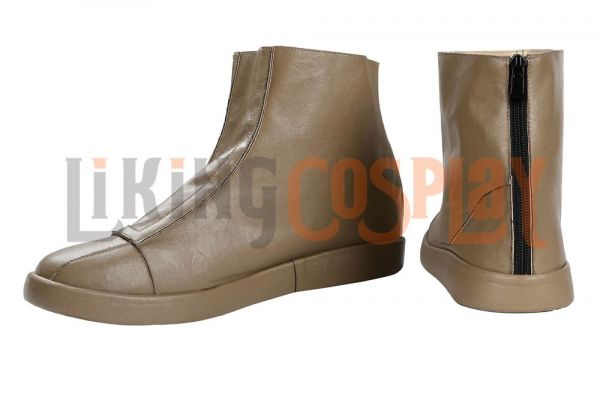 Star Wars The Mandalorian Shoes Cosplay Men Boots