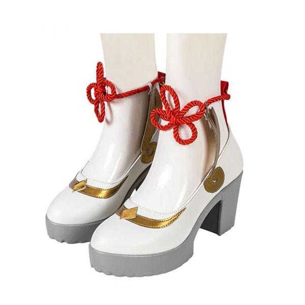 Genshin Impact Ganyu Shoes Cosplay Women Boots